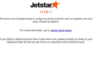 Jetstar website clogged as Australians rush to grab $19 flights