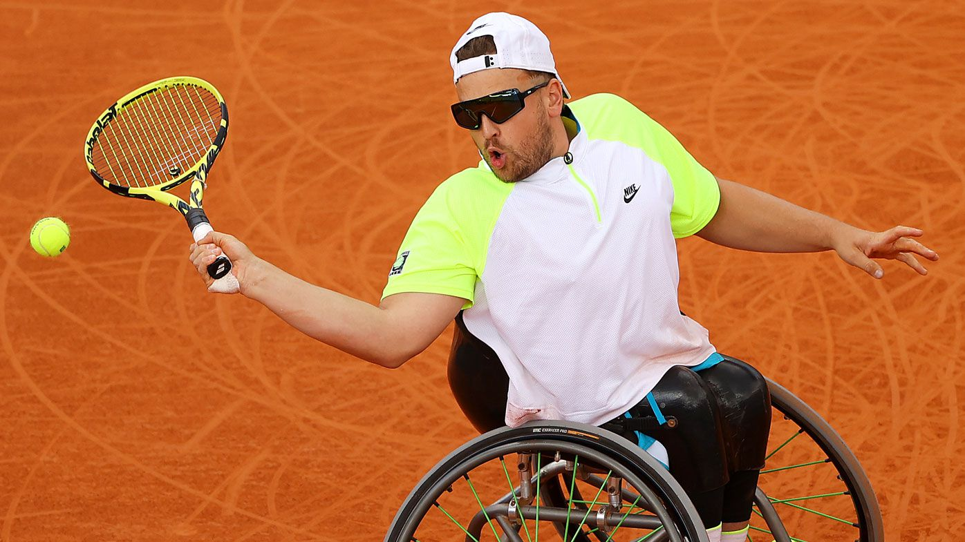 Dylan Alcott wins French Open, beating Andy Lapthorne in final for 11th Grand Slam