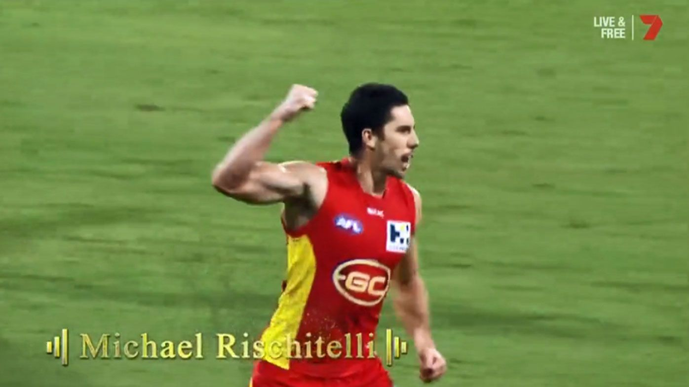 Gold Coast Suns' Michael Rischitelli denies AFL retirement after Brownlow Medal highlights package
