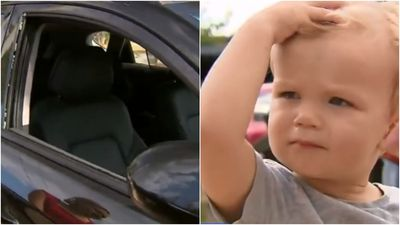 Toddler rescued from car as week-long heatwave sets in