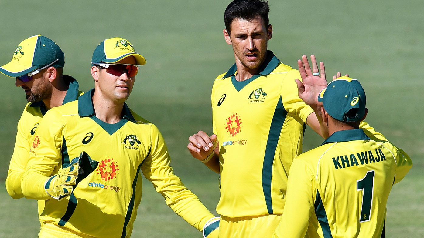 Smith, Starc fire for Australia but Kiwis bounce back in World Cup warm-up match