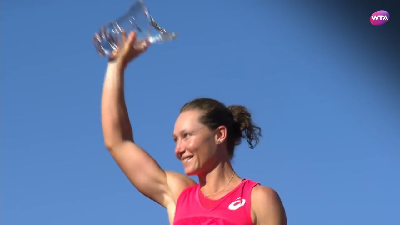 Stosur wins Strasbourg Final