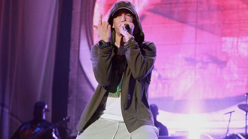 American rapper Eminem. (Getty)