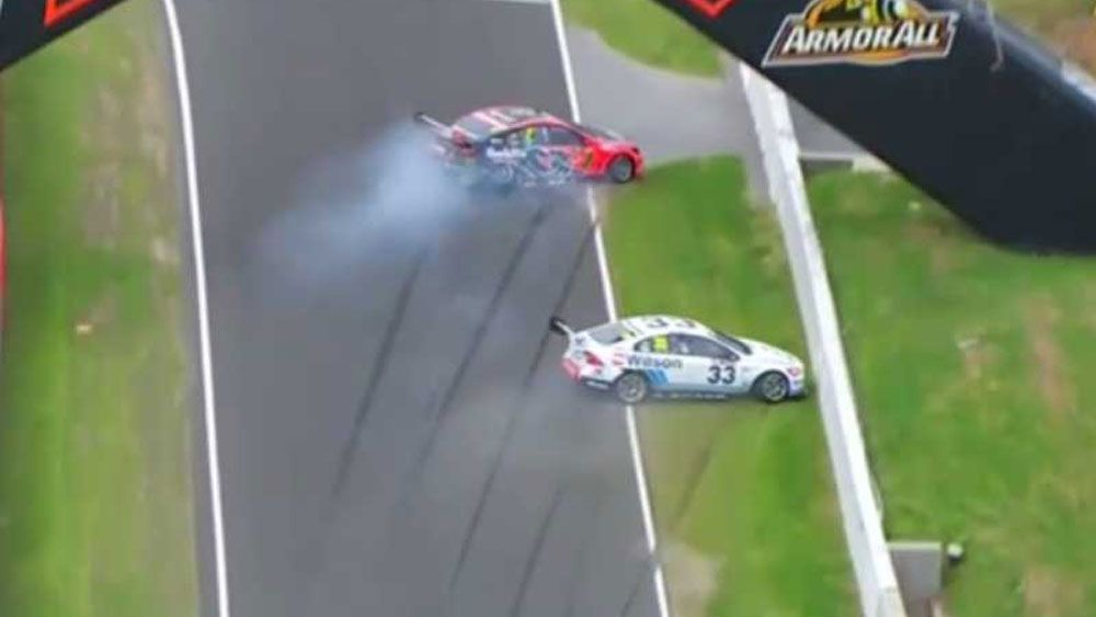 Whincup ignored team orders before crash