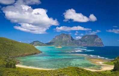 Lord Howe Island view