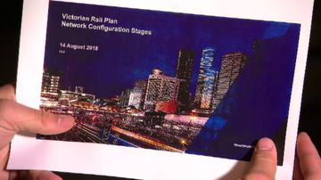 Secret rail blueprint for Melbourne revealed