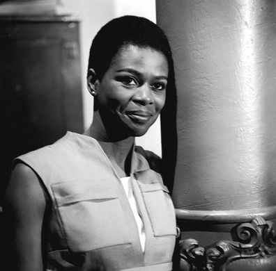 "Cicely Tyson is shown here in a scene from the CBS television program ""East Side/West Side on May 24, 1963."