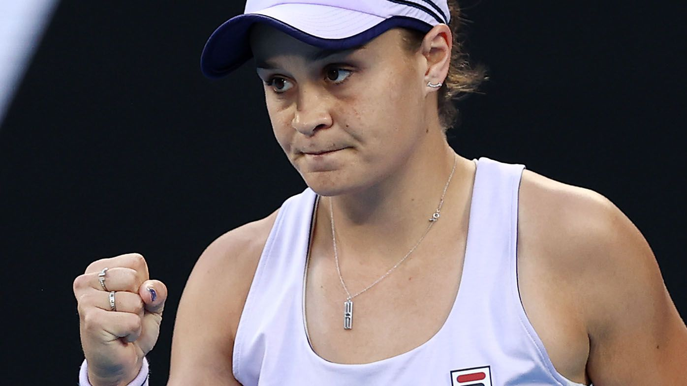 EXCLUSIVE: Sam Smith's 'wild' prediction for Ash Barty's path to Australian Open final