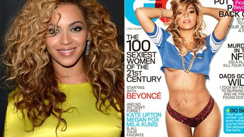 Bootylicious: Beyonce shows off her curves on <i>GQ</i> cover