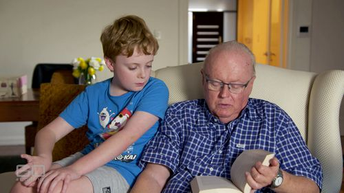 Graham Richardson hope his son Darcy, 9, will become Prime Minister. (60 Minutes)