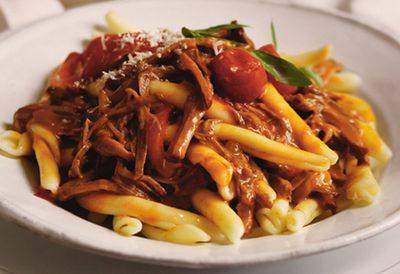 Slow-cooked beef ragu