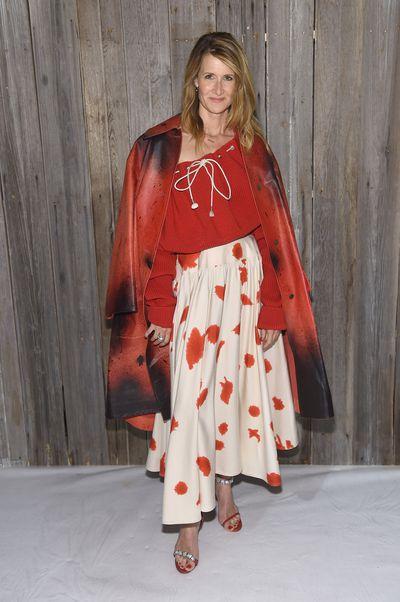 Actress Laura Dern at Calvin Klein A/W '18 in New York City