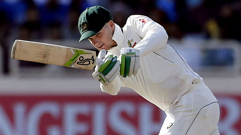 Australian batsman Peter Handscomb helped Australia draw the third Test. (AAP)
