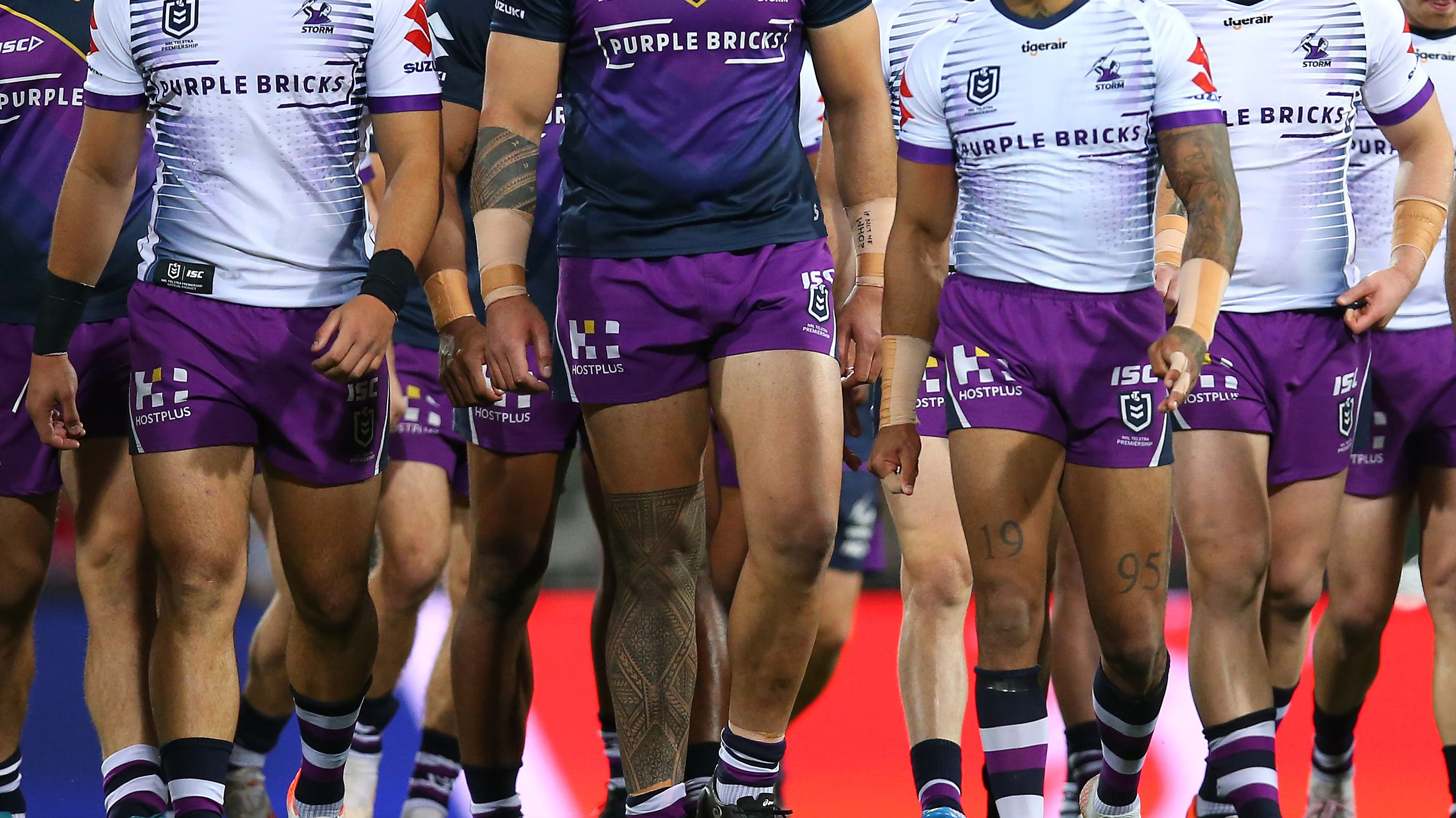 Melbourne Storm confirm player in hospital with cuts after incident