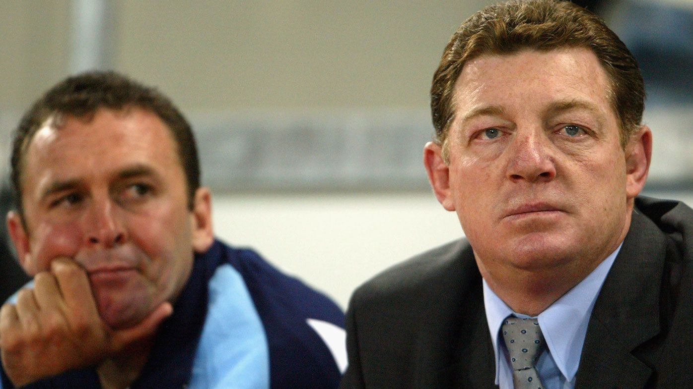 'Hates everyone, hates the world': Ricky Stuart has 'mellowed', Phil Gould says