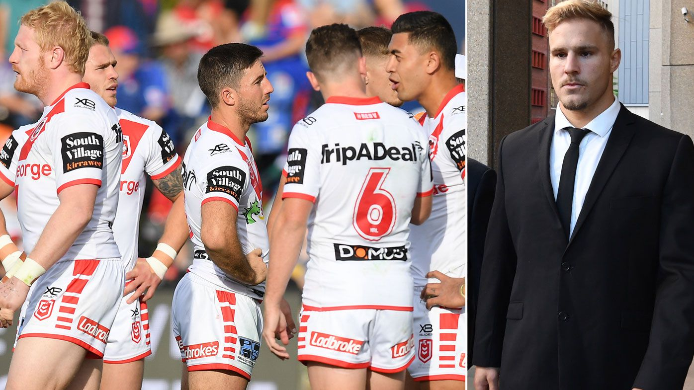 St George Illawarra Dragons expected to play Jack de Belin against Newcastle Knights