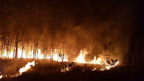 Strong winds and heatwave temperatures continue to hamper Queensland firefighting efforts as more than 110 blazes are still burning.