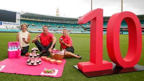The Pink Test turns 10 today. (AAP)