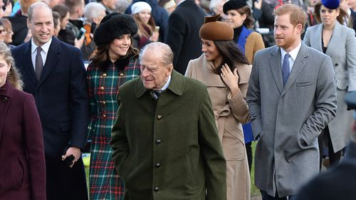 The Duke and Duchess of Cambridge, Meghan Markle and Prince Harry. (Joe Giddens/PA Wire)