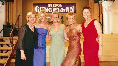 Sonia Todd (Meg Fountain), Rachael Carpani (Jodi Fountain), Jessica Napier (Becky Howard), Bridie Carter (Tess Silverman-McLeod) and Lisa Chappell (Claire McLeod).