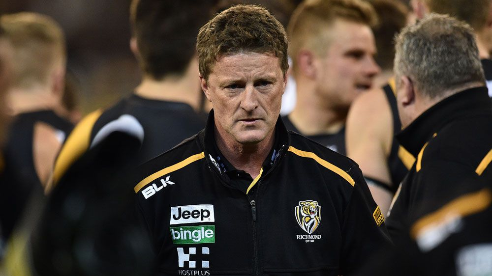 Hardwick named AFL coach of the year