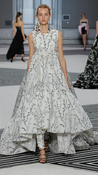 """<p>With <a href=""""http://honey.ninemsn.com.au/2015/07/09/12/33/karl-lagerfeld-talks-chanel-fall-2015-couture-runway-show"""" target=""""_blank"""">a single gown consisting of up to a million pearls</a>, the haute couture runways are home to some pretty spectacular creations and offer an abundance of bridal inspiration. From beautiful suiting to steal-the-show princess gowns, there's a little something for every bride-to-be. </p>"""