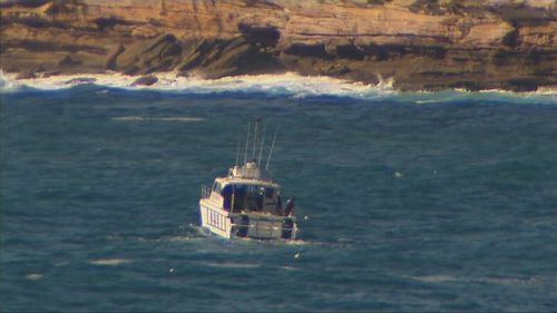 A full-scale sea, land and air search was launched this morning. (9NEWS)