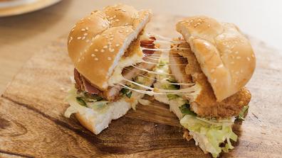 KFC Zinger Mozzarella Burger