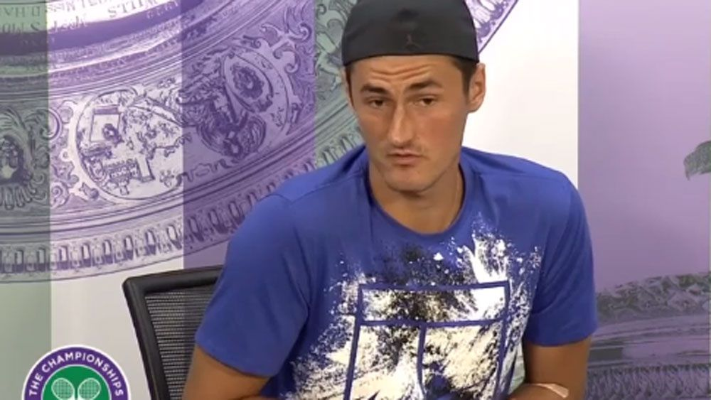 "No sanctioning as yet for ""bored"" Tomic"