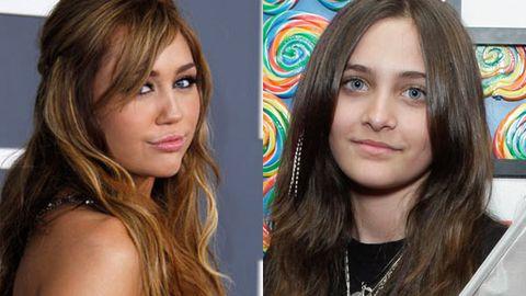 Paris Jackson mistaken for Miley Cyrus