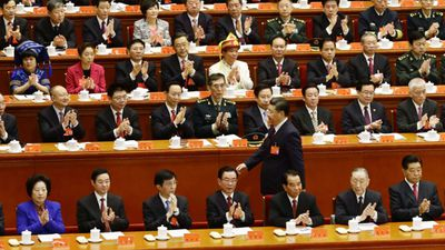 China's Communist Party inserts Xi into party constitution
