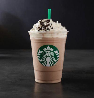 Starbucks white mocha