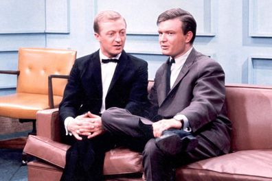 Bert Newton and Graham Kennedy on In Melbourne Tonight.
