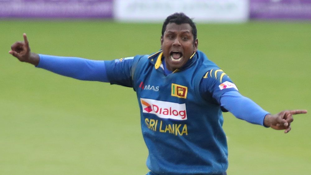 Angelo Matthews will miss the remainder of Australia's tour. (Getty Images)