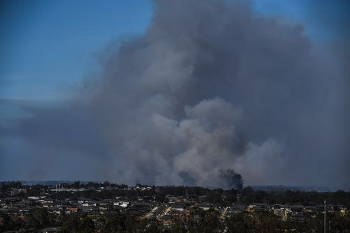 Thick smoke has blanketed most of Sydney over the weekend. (AAP)