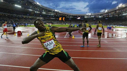 World's fastest man LeBron James came third in the Sports Illustrated list. (AAP)