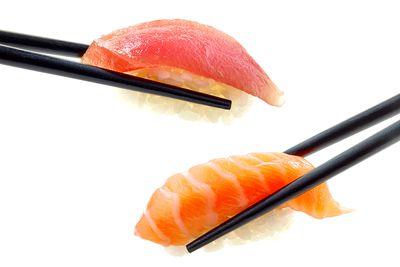 Oily fish: salmon, tuna and mackerel