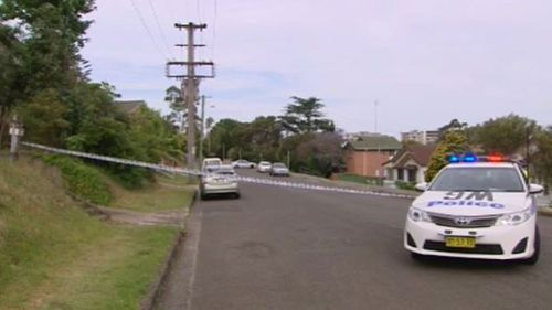 A Corrective Services officer fired two shots as he chased the man down Crown Street. (9NEWS)