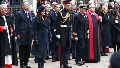Prince Harry Meghan Markle open Fields of Remembrace at Westminster Abbey 3
