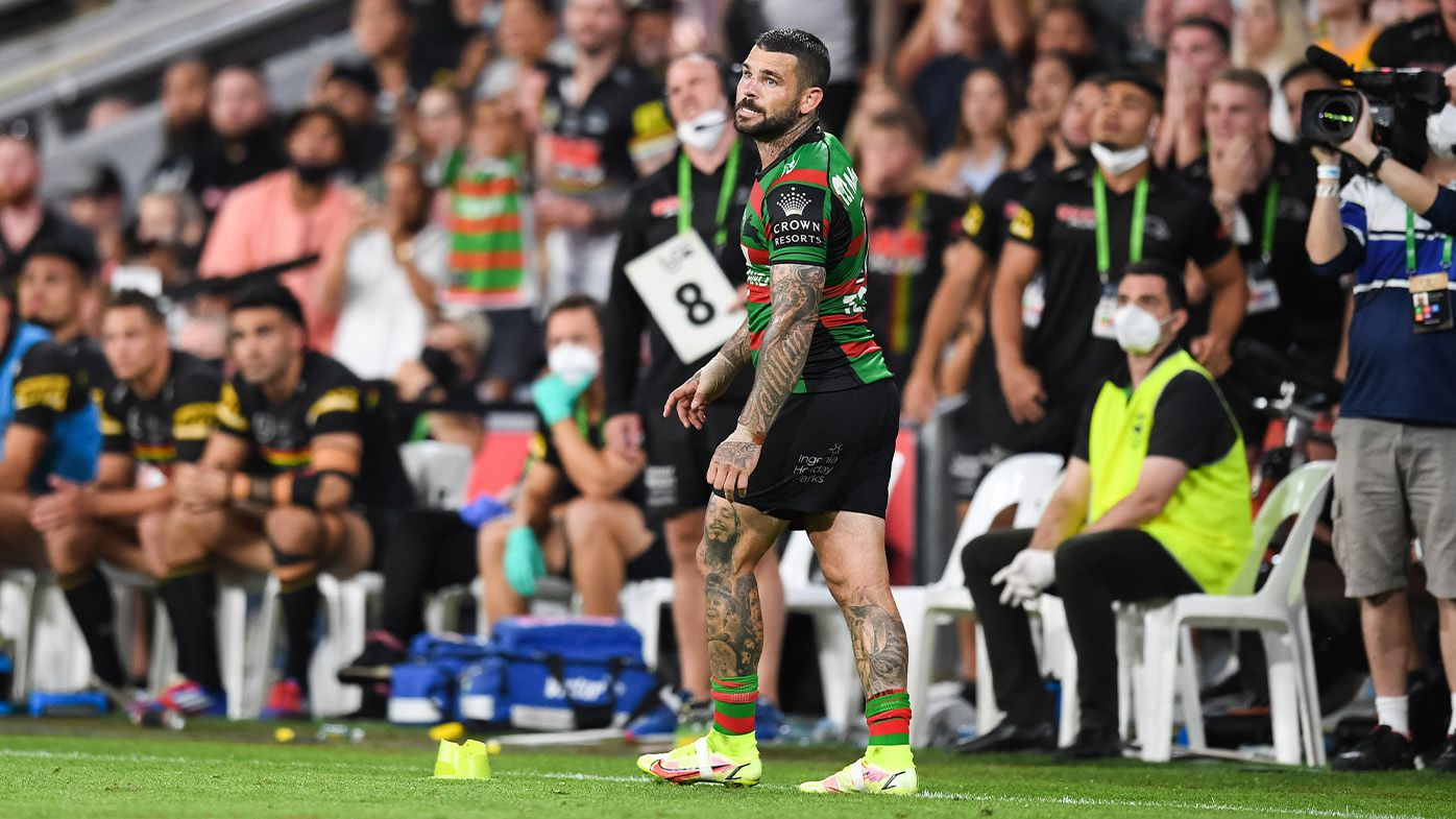 Penrith Panthers win 2021 NRL grand final as Adam Reynolds blows chance to be Rabbitohs' hero