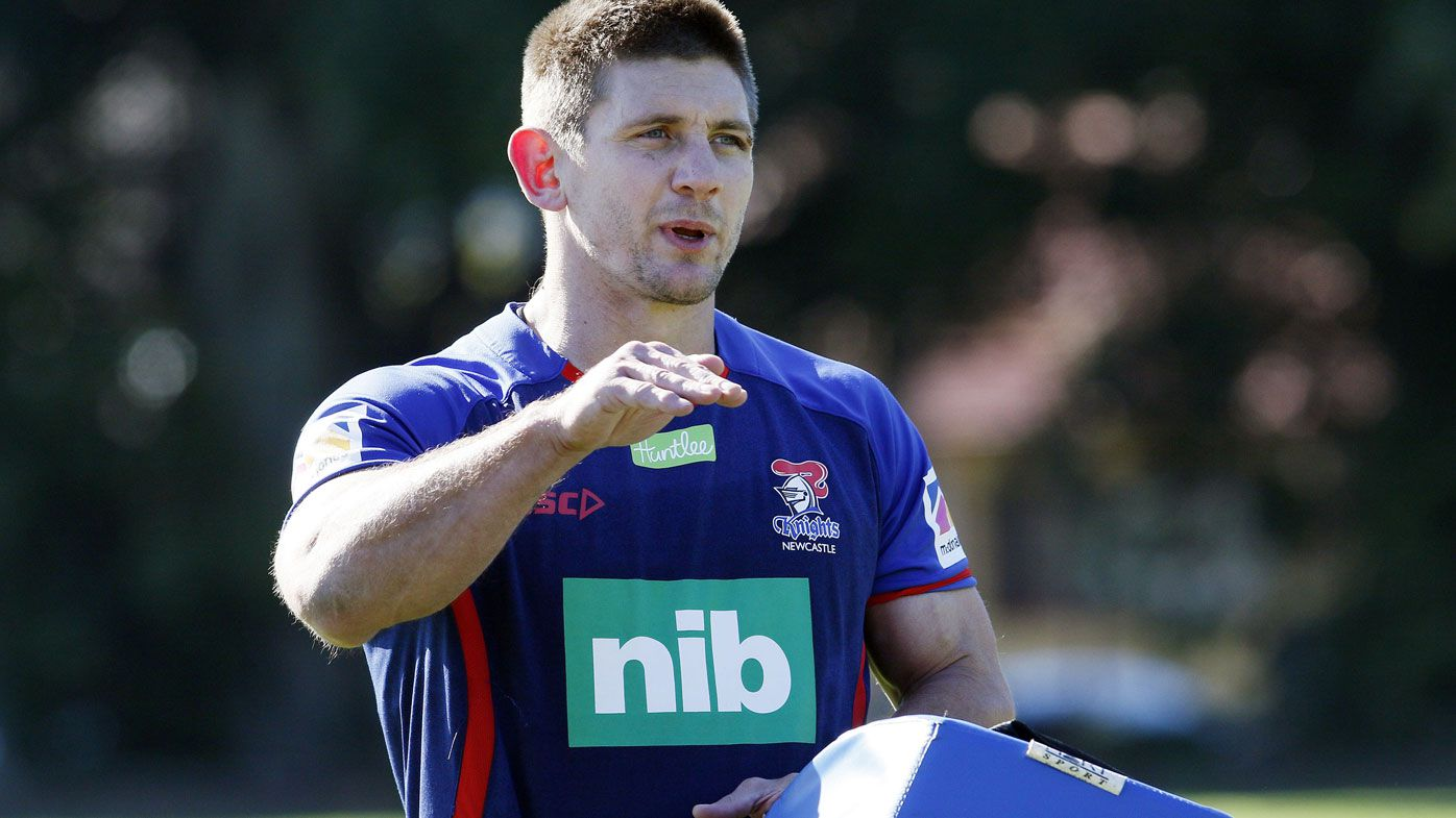 Newcastle Knights' Lillyman calls time on NRL career