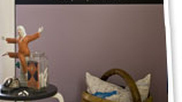 Paint a chalkboard banner on your wall