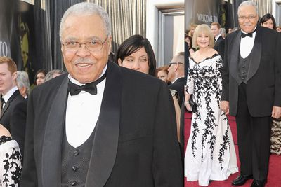 At 81, <i>the</i> James Earl Jones (he received an Honorary Academy Award last year!) shows just how to do dashing ... not to mention his wife, actress Cecilia Jones - she looks fabulous, too!