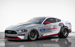 Ford unveils an all-electric Mustang dragster with 1,400 horsepower