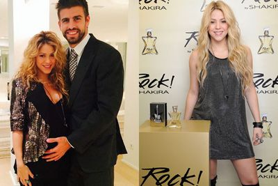 @shakira: Celebrated my partner Puig's 100th Anniversary tonight, and wearing my new favorite accessory, #Rock! Shak