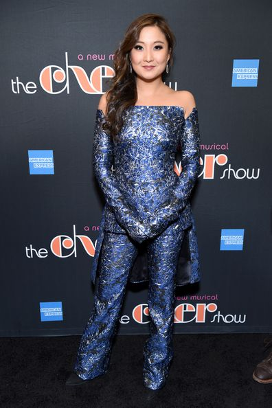 Ashley Park arrives at The Cher Show Broadway Opening Night at Neil Simon Theatre on December 03, 2018 in New York City.