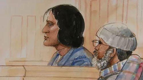 Manisha Patel in court. (9NEWS)