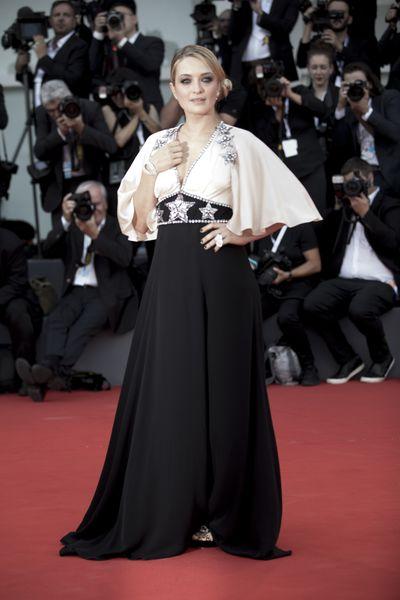 Carolina Crescentini in Gucciat the 2018 Venice Film Festival