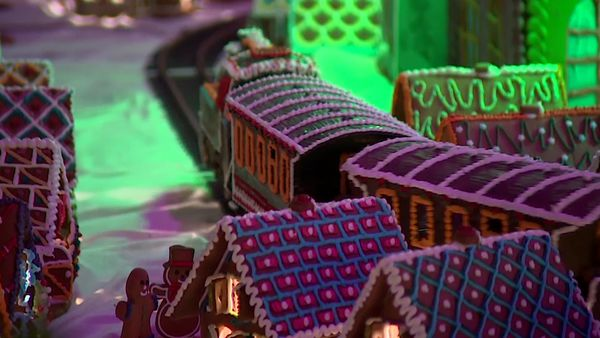 Polish town created from gingerbread