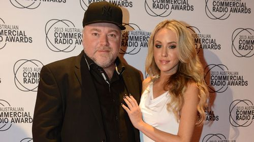 Kyle Sandilands and Imogen Anthony (AAP)
